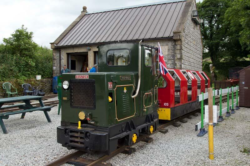 steeple grange train